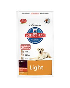 Hill's Science Plan Canine Adult Light Large Breed Huhn