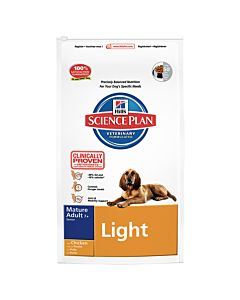 Hill's Science Plan Canine Mature Adult Senior Light