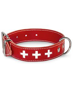 Freezack Halsband Swiss Cross rot