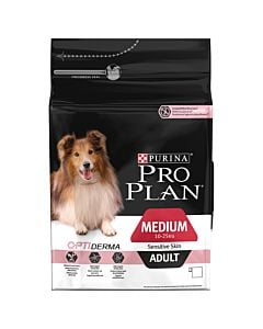 Pro Plan Dog Medium Adult OPTI DERMA Lachs