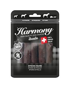 Harmony Dog Snacks Sticks environ 10cm 100g
