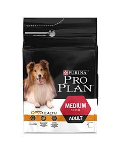 Pro Plan Dog Medium Adult OPTI HEALTH Huhn