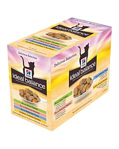 Hill's Katze Ideal Balance Multipack Nassfutter