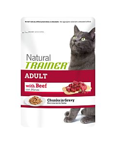 Trainer Feline Natural Adult Beutel in Sauce 85g