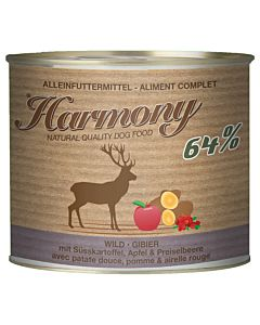 Harmony Dog Gibier avec patate douce, pomme & airelle rouge