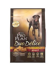 Pro Plan Dog Duo Délice Adult Huhn