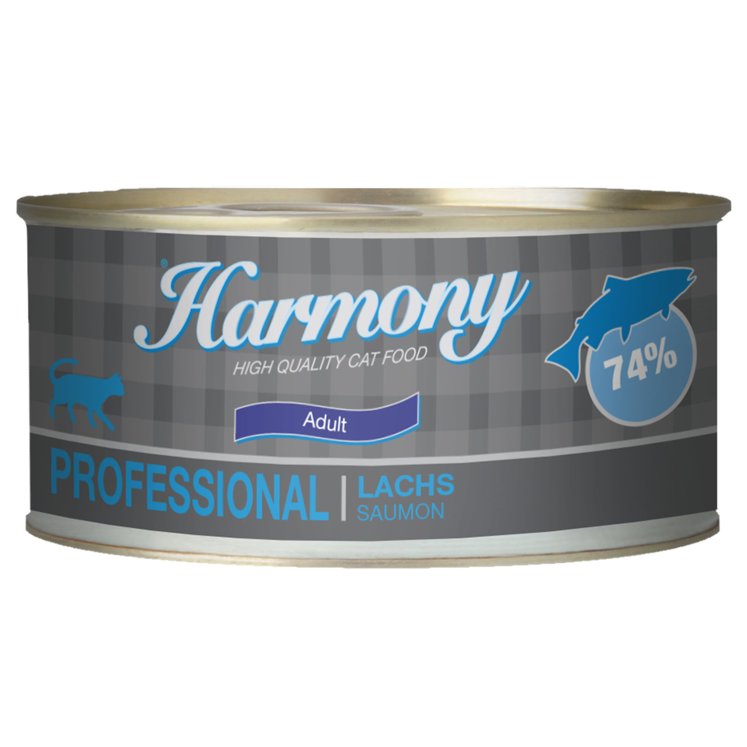 Harmony Cat Professional Adult Lachs Katzenfutter