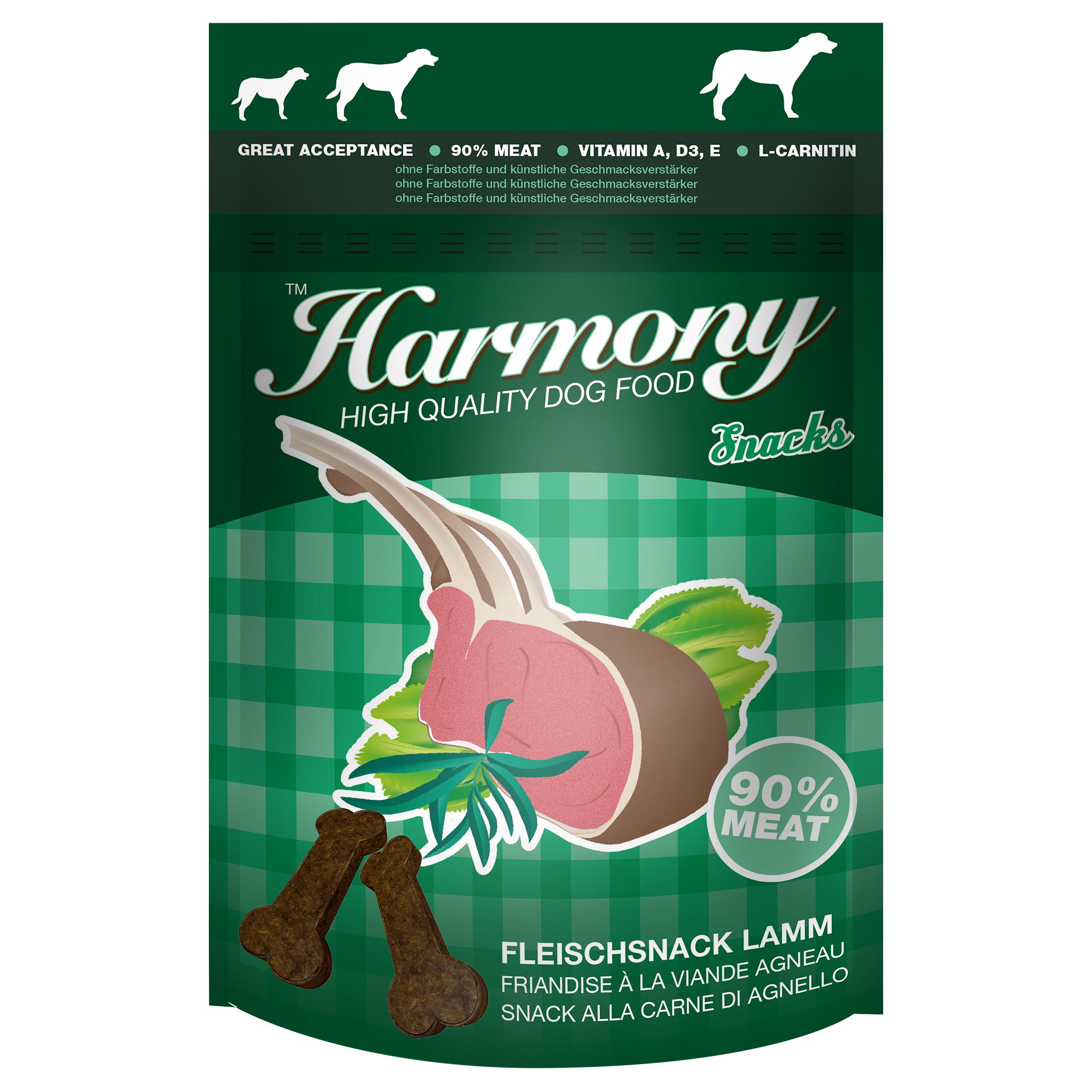 Harmony Dog Snacks Fleischsnack 60g