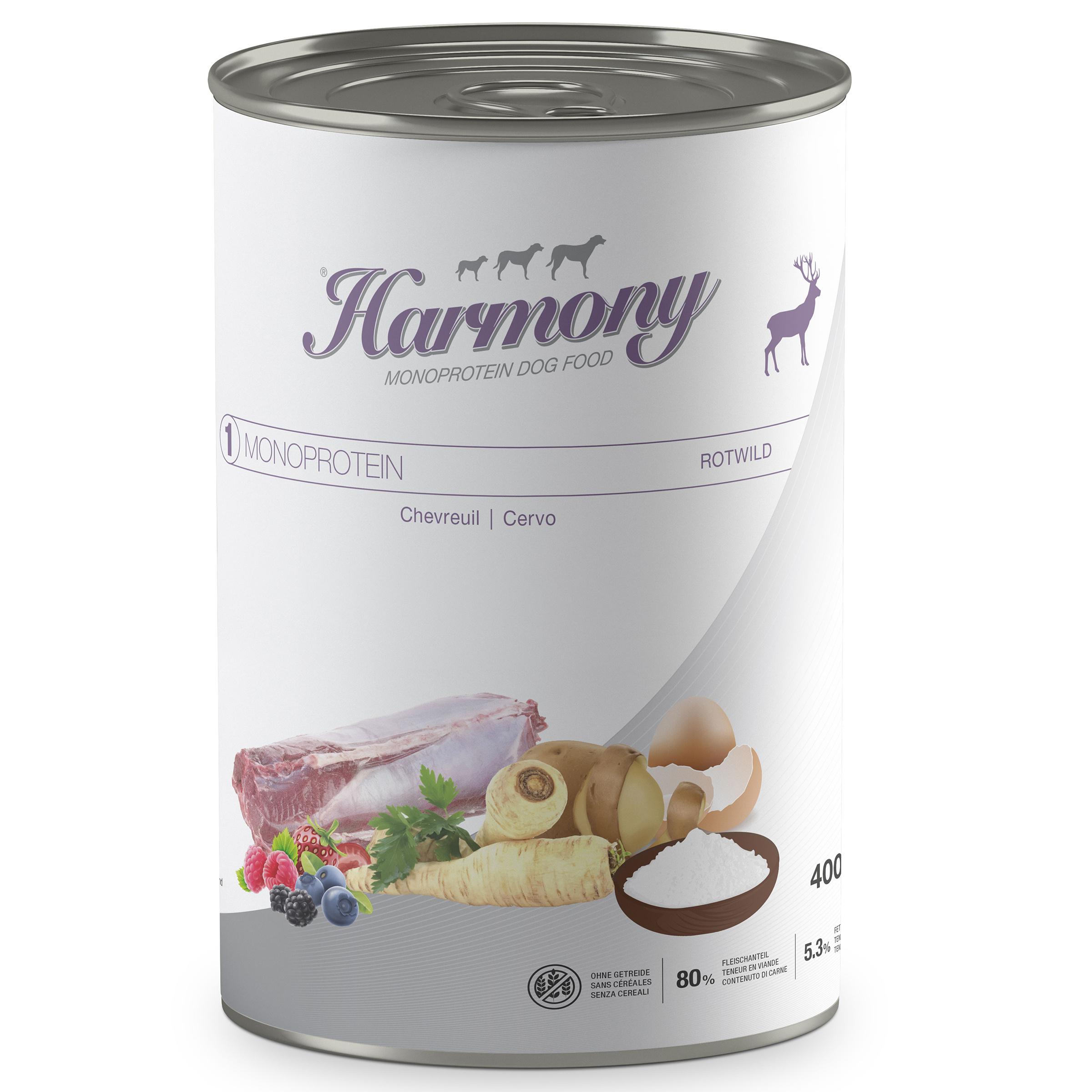 Harmony Dog Monoprotéine Chevreuil