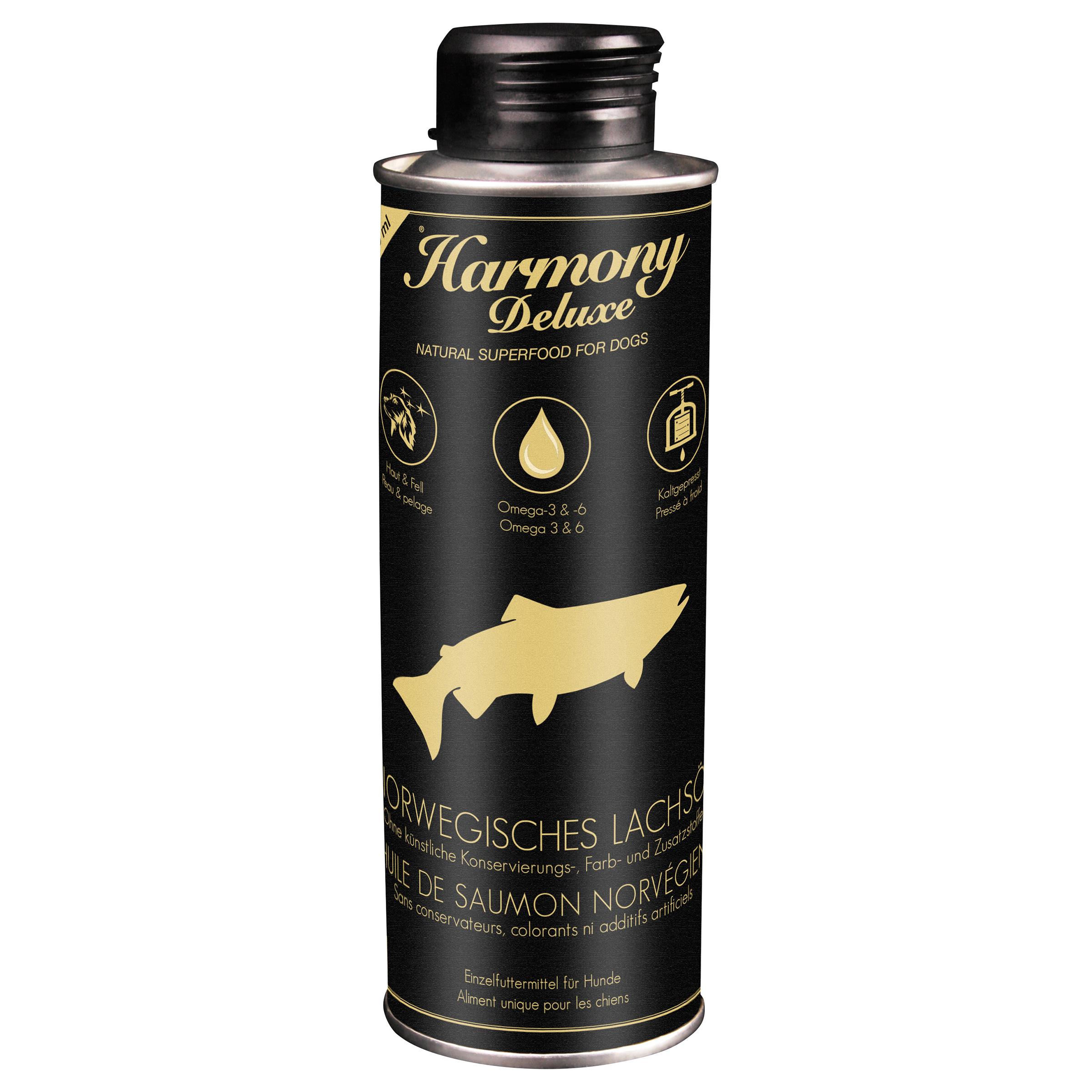 Harmony Dog Deluxe Norwegisches Lachsöl