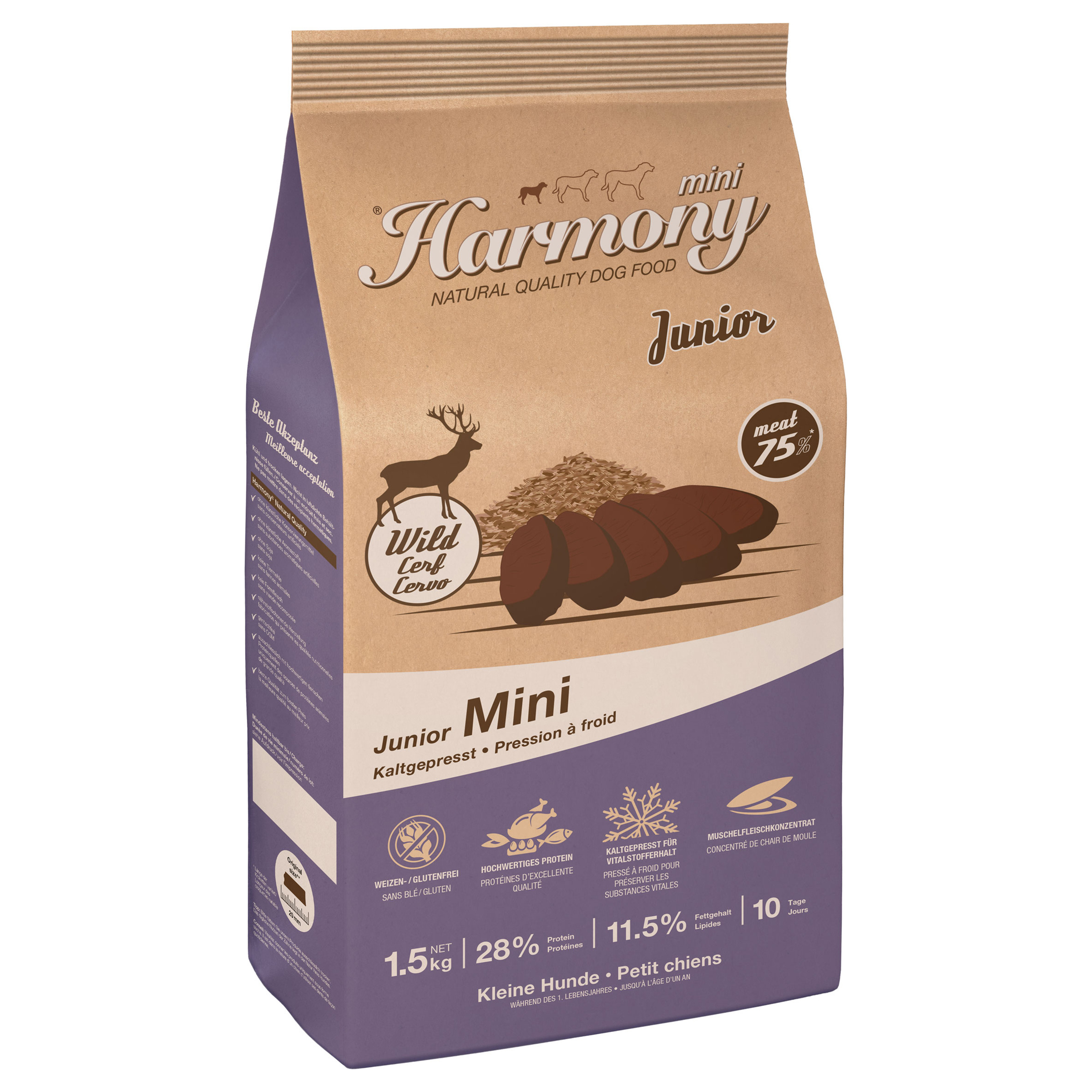 Harmony Dog Natural Mini Junior Rotwild & Reis
