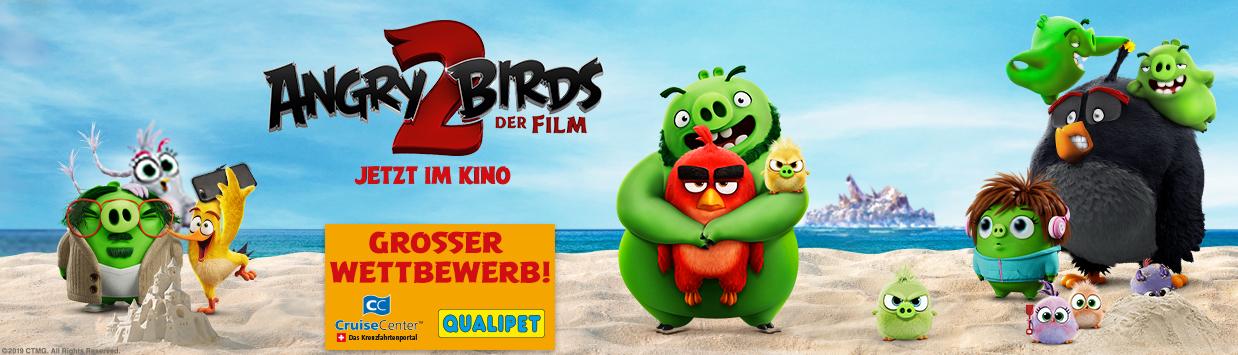 Grosser Angry Birds 2 Wettbewerb